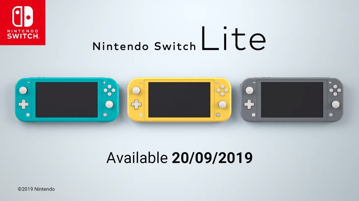 任天堂Nintendo Switch Lite发表!9月20日发售