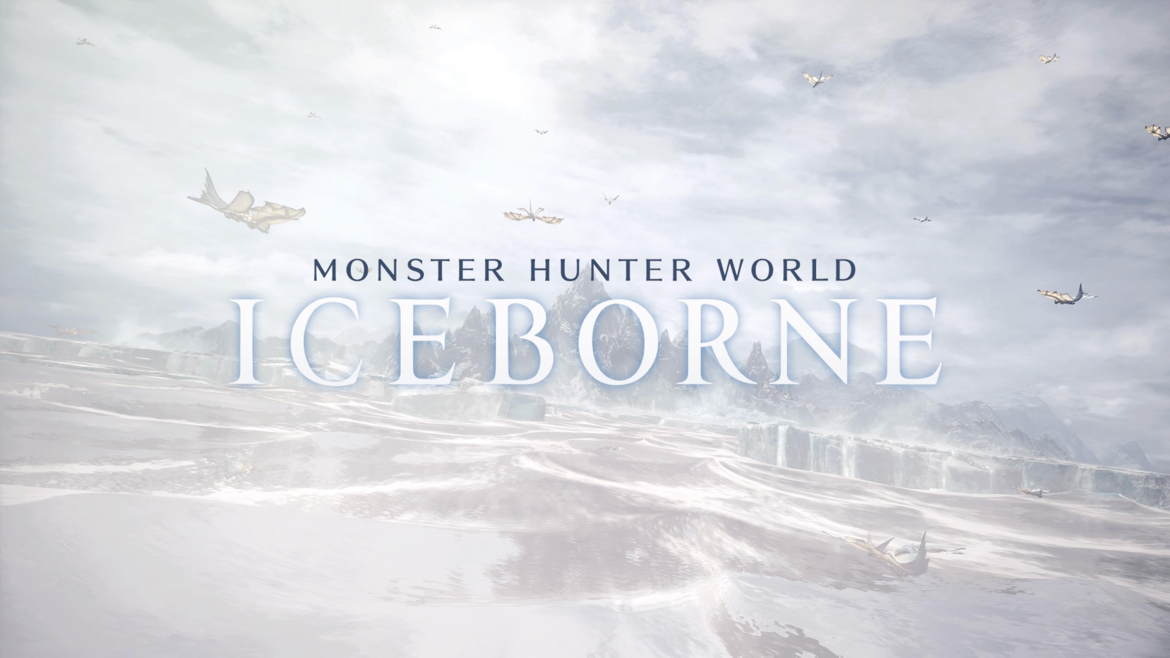 怪物猎人世界 Iceborne