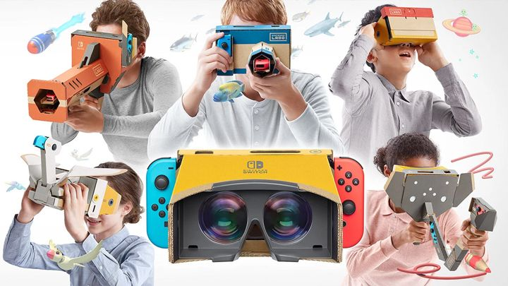 任天堂Labo VR套装
