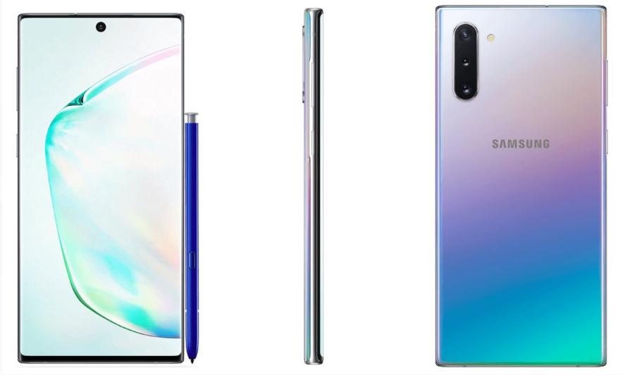 三星下半年旗舰机Galaxy Note 10渲染图最终设计披露