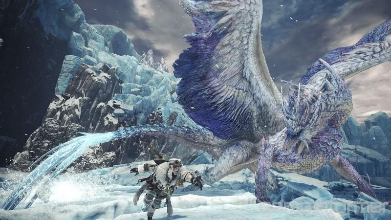 《怪物猎人世界 Iceborne》冰呪龙套装和武器造型大量新图公开