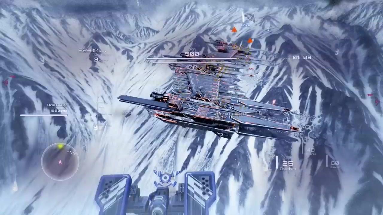 《有翼的千金 黑暗之翼》公开新宣传片 装甲核心风射击游戏
