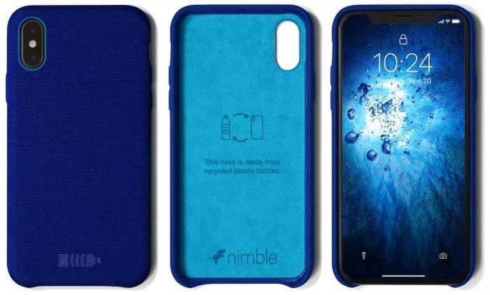 手机壳也可以环保  100%可回收塑料制成的Bottle Case