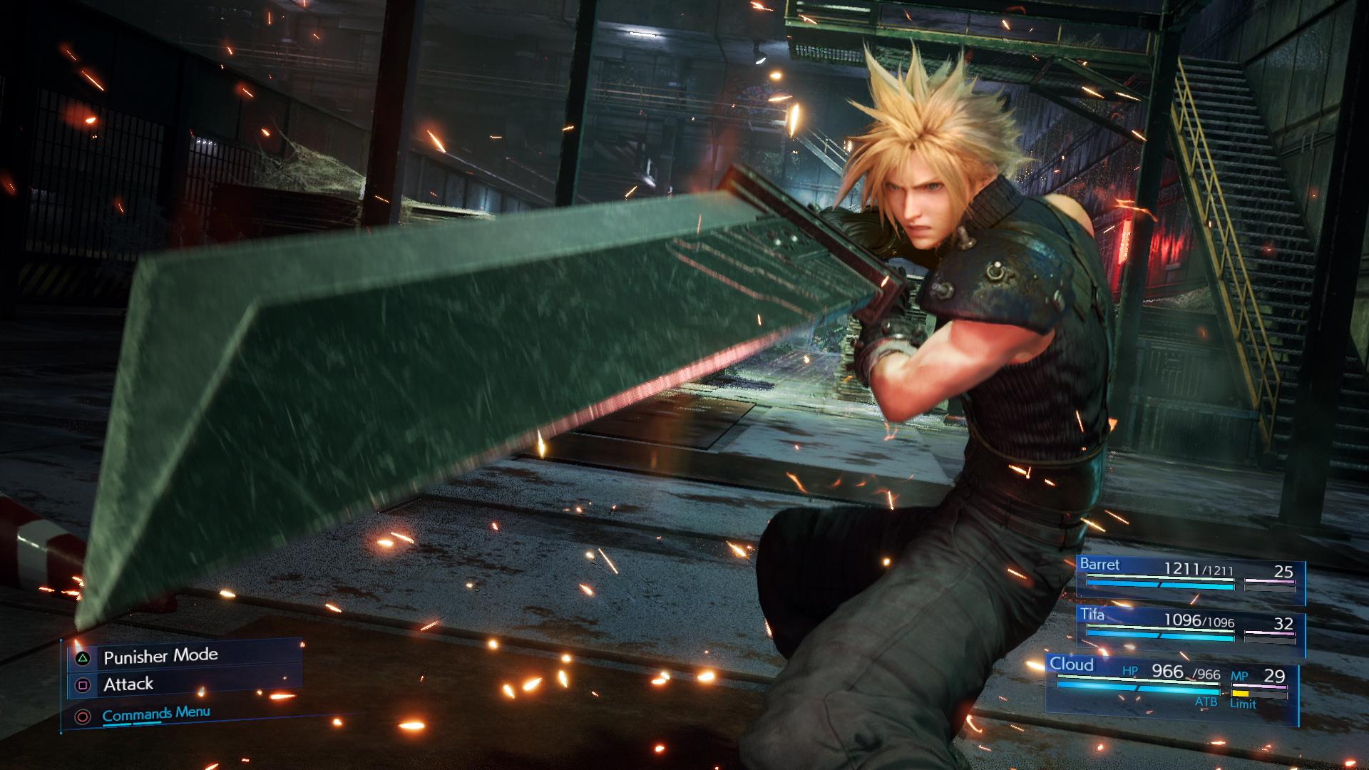 《最终幻想7 重制版》TGS全新演示 蒂法爱丽丝等的大量新画面