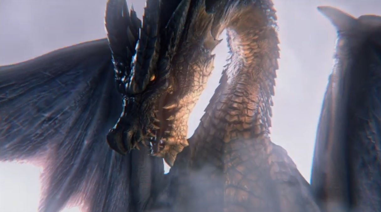 《怪物猎人》最新怪物尺寸对比视频公开 禁忌怪视频首次亮相