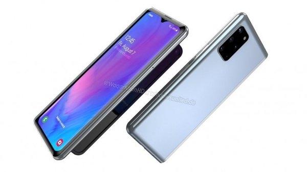 三星Galaxy Fold 2曝光:更高屏占比 外屏为刘海设计