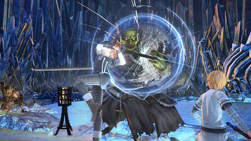 《刀剑神域:彼岸游境》单手剑技能列表