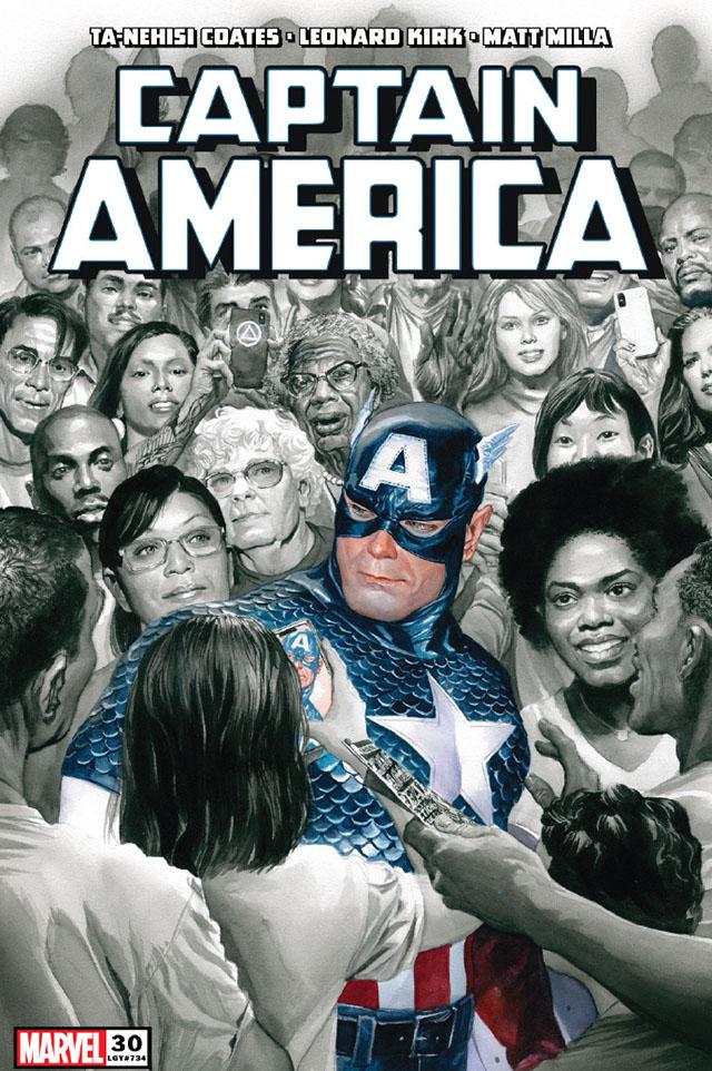 《美国队长》第30期正式封面公开